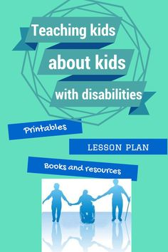 Great list of resources--activities, worksheets, lesson plans, suggested reading books and more--to help non-disabled children better understand their peers and classmates with disabilities and special needs.