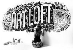 Gemma O'brienes una diseñadora australiana apasionada por el lettering yel trabajo manual quien después de pasar por diferentes despachos y agencias en Sydney en 2012 decidió hacerse freelance; desde entonces ha trabajado para