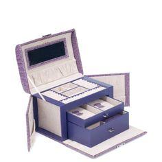 Weanas Leatherette Jewelry Box Case Storage Organizer Gift with Travel Lock Mirror large http://www.amazon.com/dp/B00G35DTYK/ref=cm_sw_r_pi_dp_W7eWub0YCWVVS