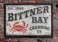 vintage sign art by nutmegger workshop