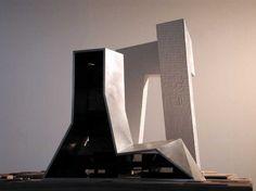 24. Rem Koolhaas, CCTV Building, 2002-2009 (model)