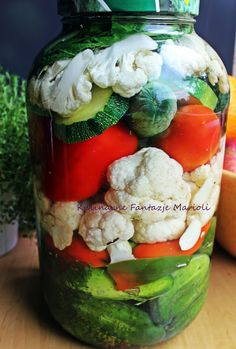 Fermented Foods, Sous Vide, Canning Recipes, Preserves, Pickles, Sushi, Food And Drink, Homemade, Dishes