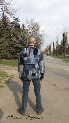 Мой джинсовый кастомайзинг (трафик) / Переделка джинсов / ВТОРАЯ УЛИЦА