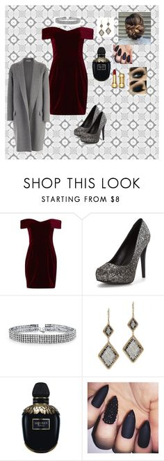 """""""feeling classy today!"""" by whitesnakee on Polyvore featuring Nicholas, Bling Jewelry, Dana Kellin, Alexander McQueen and CÉLINE"""