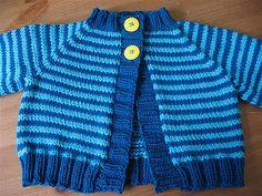 free pattern  Ravelry: Baby Blueberry Cardigan pattern by Elizabeth Smith