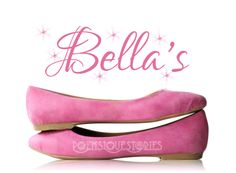 Bella's Pink Shoes [Wedding Shoes]