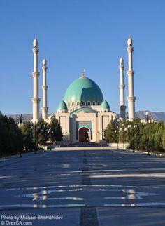 Saparmurat Haji Mosque in Turkmenistan