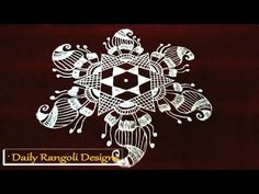 flower kolam designs with dots *easy rangoli designs *simple muggulu with dots * Welcome to our own channel, Daily Rangoli Designs. Rangoli Kolam Designs, Kolam Rangoli, Simple Rangoli, Lotus Rangoli, Peacock Rangoli, Muggulu Design, Beautiful Rangoli Designs, Psg, Simple Designs