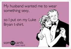 When Jason tells me since I don't have a Luke Bryan shirt I'm definitely going to out on my Jason Aldean shirt!