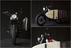Deus Customers surf motorcycle. I'd like to see a scooter version.