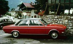 Audi 100LS C1, 2 door – 1972