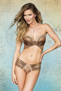 4ada1d8b6915a Paradizia Bronze Bandeau http   women-clothing.club Bikini Luxe