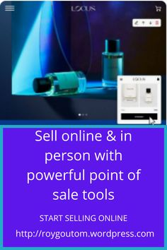 Sell Online & in person With Powerful Point Of  Sale Tools. Digital Marketing Quotes, Digital Marketing Strategy, Social Media Marketing, Point Of Sale, Selling Online, Tools, Instruments