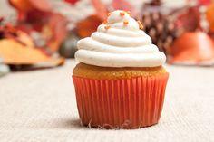 Pumpkin Spice Is the Cupcake of Autumn: Pumpkin Spice Cupcakes