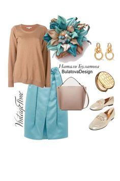 Кожаная Брошь. Бирюза, Мята и Шампань от BulatDesign - trendme.net Polyvore, Image, Fashion, Moda, Fashion Styles, Fashion Illustrations