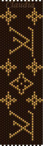 Браслеты (мозаичное плетение)   biser.info - всё о бисере и бисерном творчестве