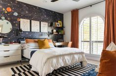Constellation Wall Mural  Starry Night Removable Peel & Stick   Etsy