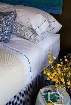 Garnet Hill Scalloped Percale Bedding - Sarah Scales Design Studio