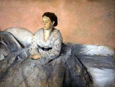 degas art posters for sale | ... Rene De Gas Photograph - Degas Madame Rene De Gas Fine Art Print
