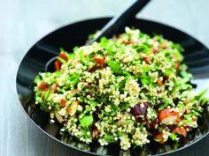 Quinoa fruits secs