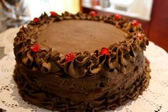 https://flic.kr/p/Hvj52v | Trufflle Chocolate Cake | Omi Gretchen Region de los Ríos