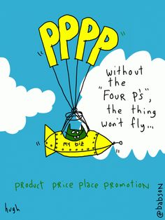 Without the 4Ps, the thing won't fly..