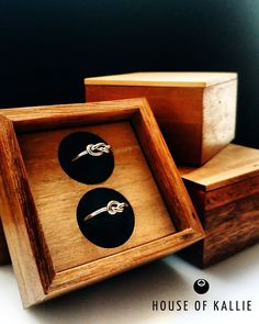 Twin Knot Ring Gift Set by House of Kallie Behind The Scenes, Knots, Twins, Gems, Jewelry, Design, House, Posters, Beautiful