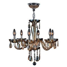 Worldwide Lighting W83128C22-AM Gastby 6 Light Chrome Finish and Amber Hand-Blown Glass Chandelier, http://www.amazon.com/dp/B00A89H2AY/ref=cm_sw_r_pi_awdm_9suqwbMQXZAFB