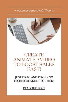 Create Animated Video To Boost Sales Growth and Conversion Fast! Read the posted article to get the review and make a purchase decision fast. #software #toonly Facebook Business, Online Business, Marketing Digital, Affiliate Marketing, Online Marketing, Make Money Online, How To Make Money, Create Animated Gif, Earn Extra Cash