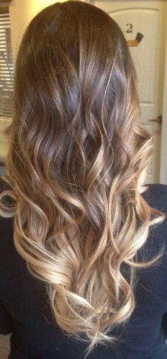 Omber curly hair #gorgeoushair