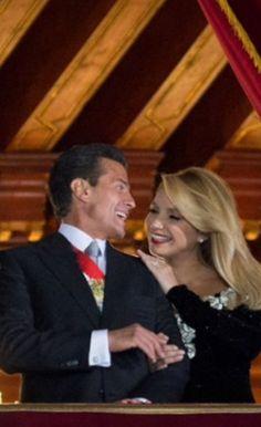 President Enrique Peña Nieto and  First Lady Angelica Rivera de Peña Nieto