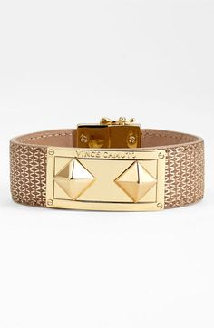 Look what I just got! :-) Love this Vince Camuto Studded Leather Wrap Bracelet available at #Nordstrom