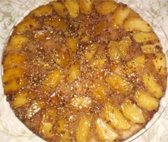 Apple Skillet Cake from Southern Plate. (Anything I pin or make from her site is Delicious!)