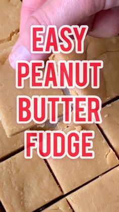 Peanut Butter Recipe - Full proof peanut butter fudge, everyone in your family, even Grandma, will love this recipe. And it's so easy you cannot mess it up! Homemade Fudge, Homemade Peanut Butter, Peanut Butter Recipes, Homemade Candies, Fudge Recipes, Candy Recipes, Microwave Peanut Butter Fudge, Cookie Recipes, Christmas Desserts