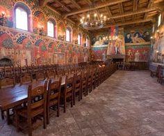 Medieval Castle Great Hall | ... California: Calistoga: Castello di Amorosa – Castle in Napa Valley