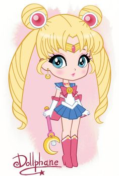 Chibi Sailor Moon by Dollphane.deviantart.com on @deviantART