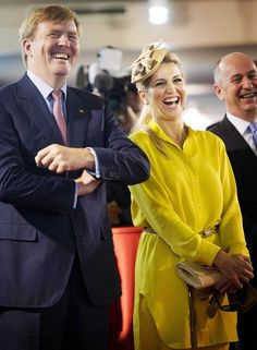 Princess Maxima and Prince Willem Alexander of the Netherlands
