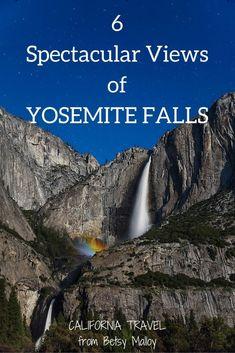 Jul 10, 2017 - 5 spectacular reasons to visit Yosemite more than once - views of Yosemite Falls in every season. Best Weekend Getaways, Weekend Vacations, Weekend Trips, Vacation Ideas, Yosemite National Park, National Parks, Travel Expert, Travel Guide, Yosemite Falls