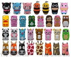 #Cartoon #animals 3d #silicone rubber tpu case cover skin for iphone 4 5 5c 6 6s ,  View more on the LINK: http://www.zeppy.io/product/gb/2/161618952848/