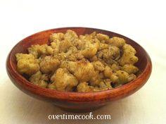 Za'atar Roasted Cauliflower
