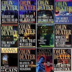 colin dexter book covers