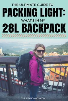 Packing light is easier for keeping track of items, saves your shoulders, and cuts baggage costs hugely. Here's a how-to guide to pack ultra-light (for ladies!). www.thriftynomads.com