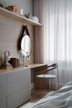 Dressing Table Design Ideas For Your Bedroom - Home Design and Decor Easy Home Decor, Home Decor Trends, Home Decor Bedroom, Modern Bedroom, Bedroom Inspo, Bedroom Designs, Bedroom Ideas, Master Bedroom, Dressing Table Design