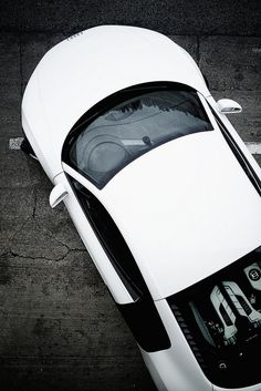 Audi R8 from top