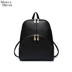 =>>Save onMara's Dream 2016 New Fashion Backpack High Quality PU Leather Candy Color Zipper Big Capacity School Bag Women Casual BackpackMara's Dream 2016 New Fashion Backpack High Quality PU Leather Candy Color Zipper Big Capacity School Bag Women Casual Backpackbest recommended for you.Shop the Lo...Cleck Hot Deals >>> http://id635942108.cloudns.ditchyourip.com/32740855099.html images
