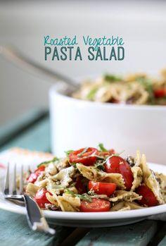Roasted vegetable pasta salad fresh salad recipes здоровое п Roasted Vegetable Pasta, Vegetable Pasta Salads, Roasted Vegetables, Grilled Veggies, Roasted Chicken, Fresh Salad Recipes, Pasta Salad Recipes, Vegetarian Recipes, Cooking Recipes