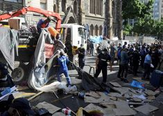 What we know as law enforcement clash with Cape Town refugees [videos] – CMM Refugees – elaw Law Enforcement Officer, Law Enforcement Agencies, Cartoon Network Adventure Time, Adventure Time Anime, Un Refugee, Metro Police, Time To Leave, Funny Vines, Thin Blue Lines