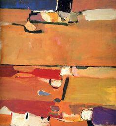 ♒ Art in the Abstract ♒ Richard Diebenkorn