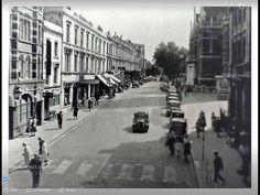 Katherine Street Croydon 1950s Thornton Heath, Croydon, Surrey, Old Photos, 1950s, Nostalgia, England, Street View, History