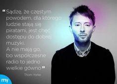 Thom Yorke o piractwie w internetowym memie